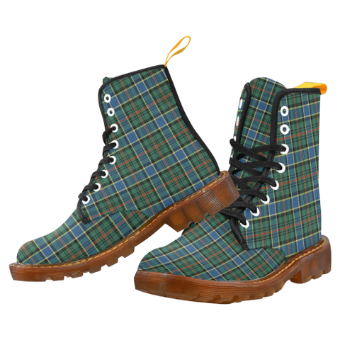 Ogilvie Hunting Ancient Tartan Martin boots | Scotland Boots | Over 500 Tartans