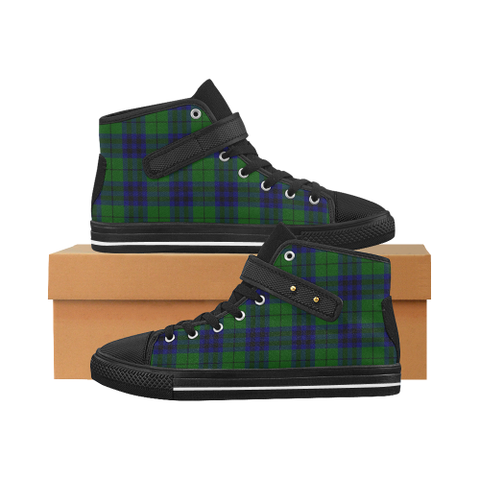 Keith Modern Tartan Shoes - Aquila Strap Shoes