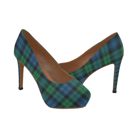 Image of Blackwatch Ancient Tartan Heels
