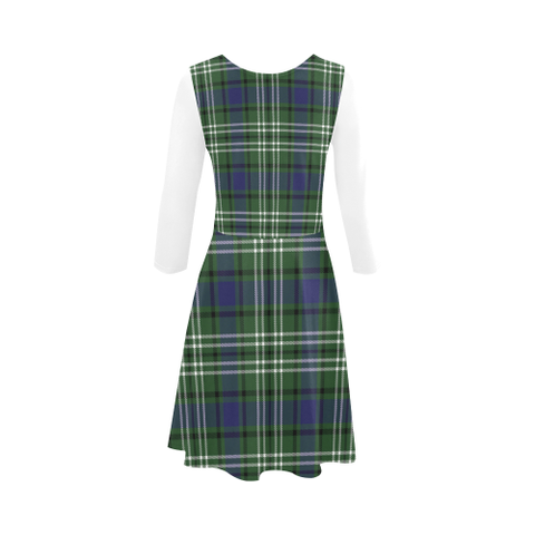 Blyth Tartan 3/4 Sleeve Sundress | Exclusive Over 500 Clans