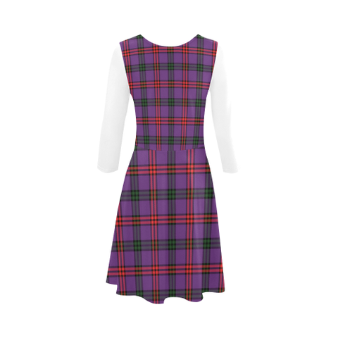Montgomery Modern Tartan 3/4 Sleeve Sundress | Exclusive Over 500 Clans