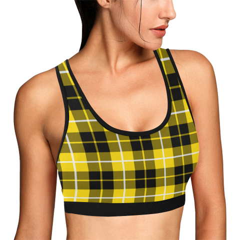 Barclay Dress Modern Tartan Bra - Tartan Sport Bra