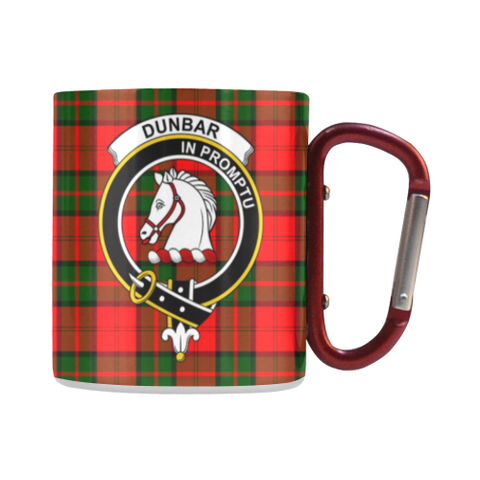 Dunbar Modern Tartan Mug Classic Insulated - Clan Badge