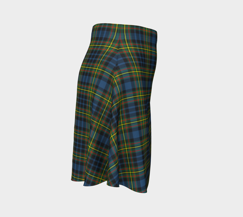 Image of Tartan Flared Skirt - MacLellan Ancient |Over 500 Tartans | Special Custom Design | Love Scotland