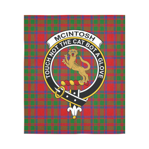Image of Mcintosh Tartan Tapestry Clan Crest