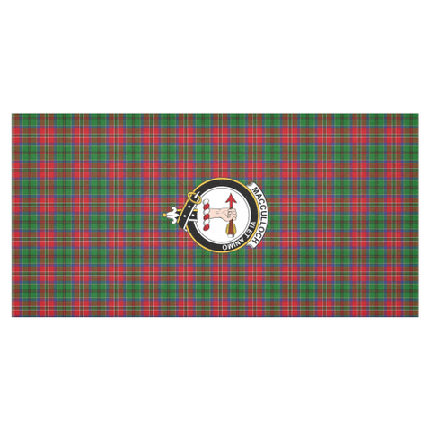 MacCulloch (McCulloch) Crest Tartan Tablecloth | Home Decor