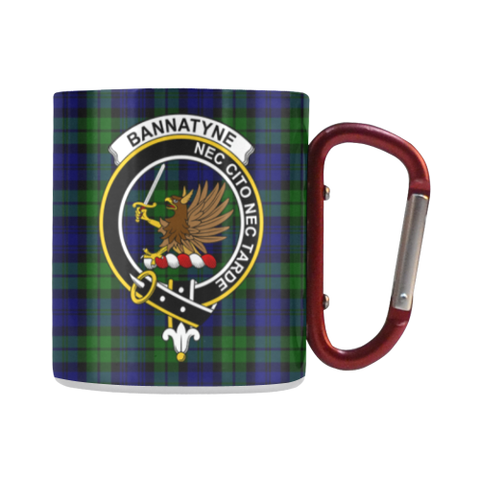 Bannatyne  Tartan Mug Classic Insulated - Clan Badge
