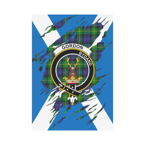 Garden Flag | Tartan Gordon Lives In Me Flag | 2 Sizes