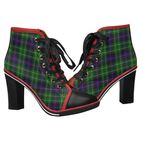 Image of Tartan Heel - Leslie Hunting | Hot Sale | Online Orders Only | 500 Tartans