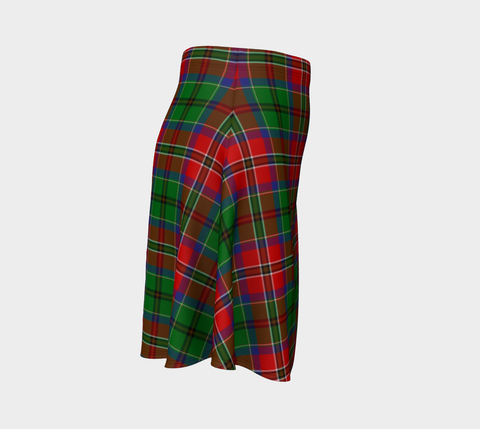 Tartan Flared Skirt - McCulloch |Over 500 Tartans | Special Custom Design | Love Scotland