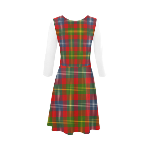 Forrester Tartan 3/4 Sleeve Sundress | Exclusive Over 500 Clans