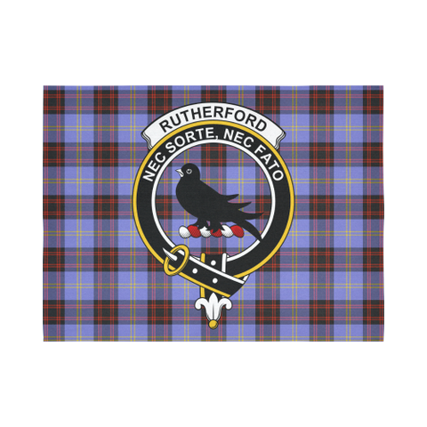 Rutherford Tartan Tapestry Clan Crest