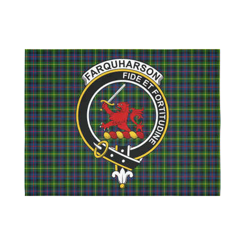 Image of Farquharson Modern Tartan Tapestry Clan Crest