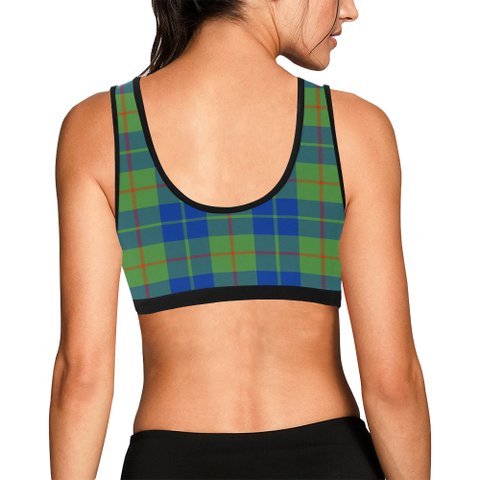 Image of Barclay Hunting Ancient Tartan Bra - Tartan Sport Bra