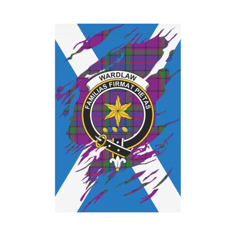 Garden Flag | Tartan Wardlaw Lives In Me Flag | 2 Sizes