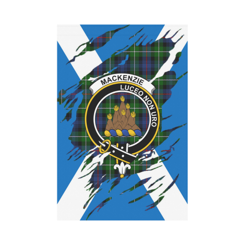 ScottishShop Garden Flag - Tartan Mackenzie Lives In Me Flag