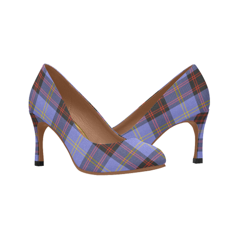 Rutherford Plaid Heels