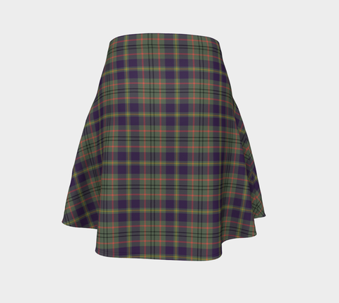 Tartan Flared Skirt - Taylor Weathered |Over 500 Tartans | Special Custom Design | Love Scotland