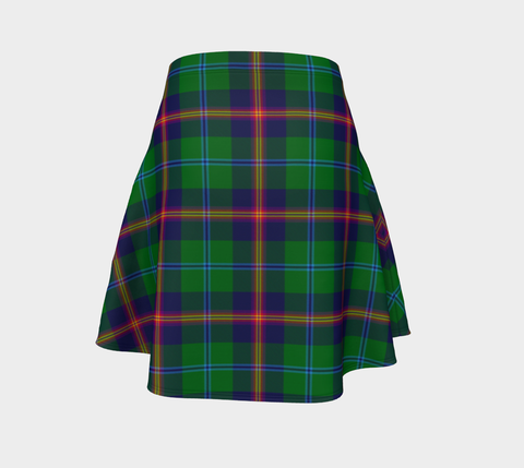 Tartan Flared Skirt - Young Modern |Over 500 Tartans | Special Custom Design | Love Scotland