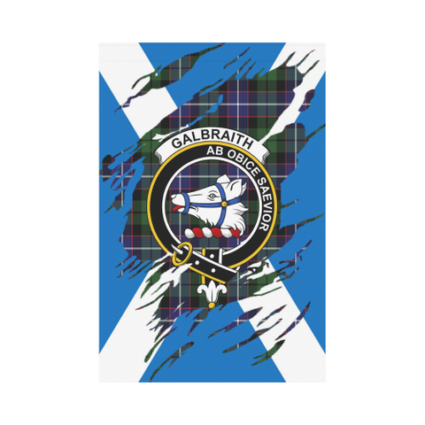 ScottishShop Garden Flag - Tartan Galbraith Lives In Me Flag