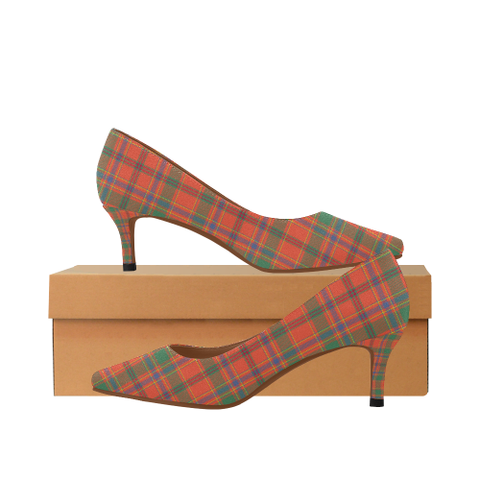 Image of Munro Ancient Tartan High Heels, Munro Ancient Tartan Low Heels
