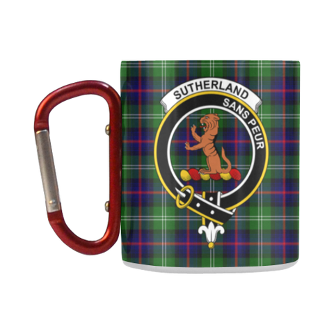 Insulated Mug - Sutherland IiTartan Insulated Mug - Clan Badge