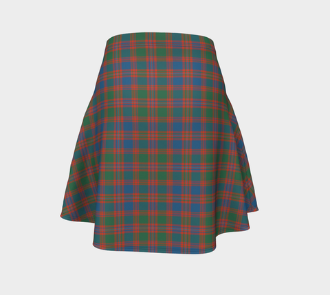 Image of Tartan Flared Skirt - MacIntyre Ancient |Over 500 Tartans | Special Custom Design | Love Scotland