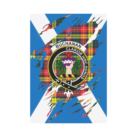 Garden Flag | Tartan Buchanan Lives In Me Flag | 2 Sizes