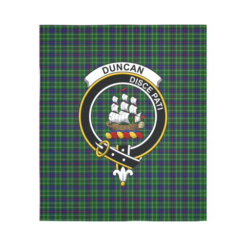 Image of Duncan Tartan Tapestry Clan Crest