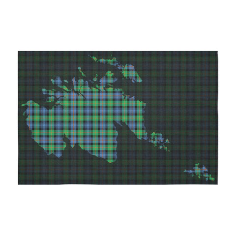 Murray of Atholl Ancient Tartan Map Tablecloth