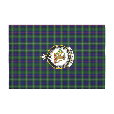 MacThomas Crest Tartan Tablecloth | Home Decor