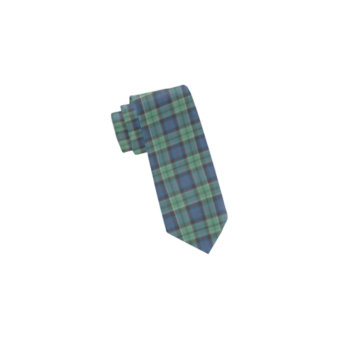 Image of Tartan Necktie - Leslie Hunting Ancient Tie