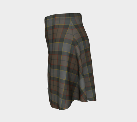Tartan Flared Skirt - Outlander Fraser |Over 500 Tartans | Special Custom Design | Love Scotland