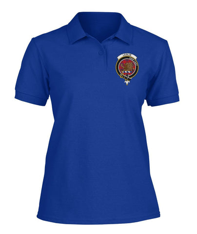 Polo T-Shirt - Leslie (Earl of Rothes) Tartan Polo T-shirt for Men and Women