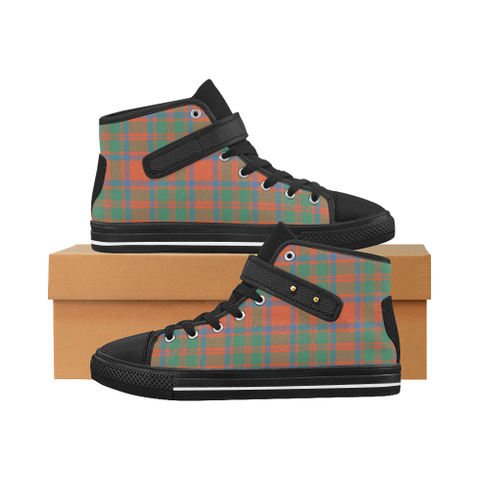 Mackintosh Ancient Tartan Shoes - Aquila Strap Shoes