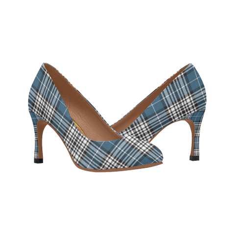 Image of Napier Modern Plaid Heels
