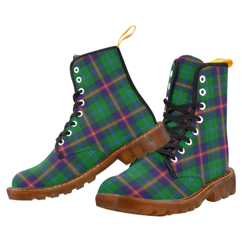 Image of Young Modern Tartan Martin boots | Scotland Boots | Over 500 Tartans