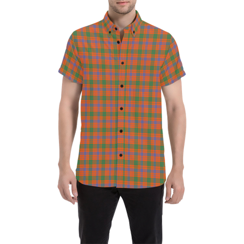 Tartan Shirt - Ross Ancient | Exclusive Over 500 Tartans | Special Custom Design
