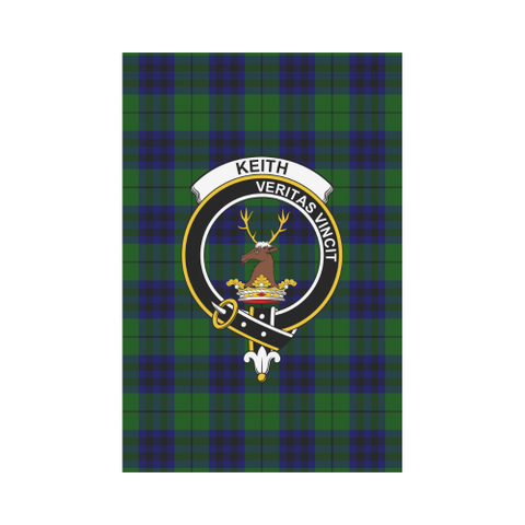 ScottishShop Garden Flag - Tartan Keith Modern Flag  Clan Badge