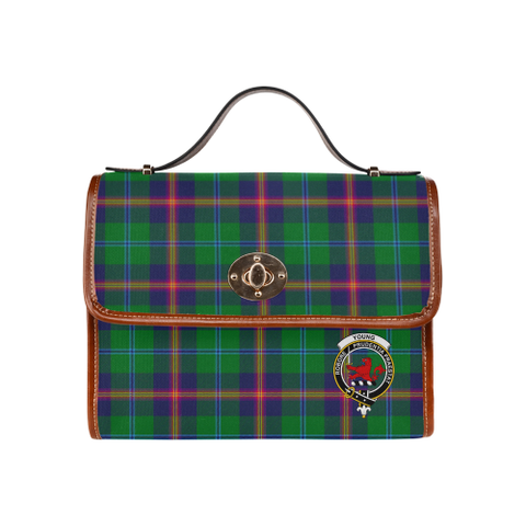 Young Clan Tartan Canvas Bag | Special Custom Design
