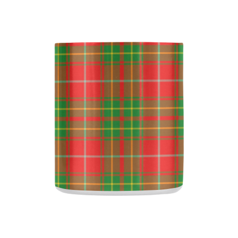ScottishShop Insulated Mug - Burnett Ancient Tartan Insulated Mug - Clan Badge