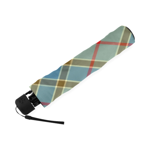 Balfour Blue Tartan Umbrella