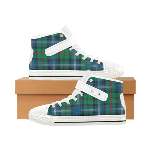Image of Urquhart Ancient Tartan Shoes - Aquila Strap Shoes