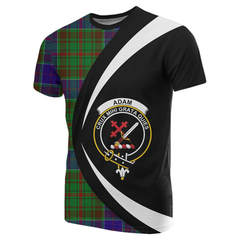 Image of Adam Tartan T-shirt Circle