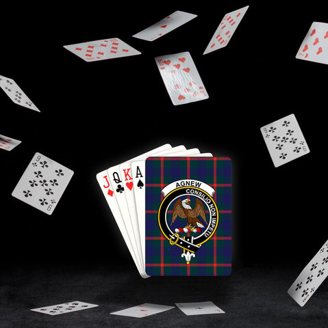 ScottishShop Agnew Playing Card - Tartan Playing Card Royal Style