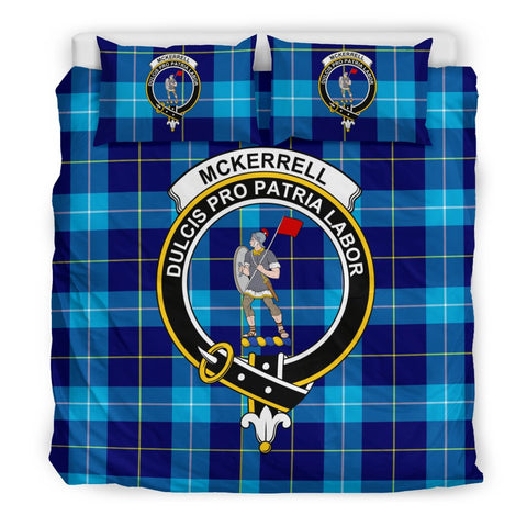 Image of Tartan McKerrell Bedding Set - Clan Crest