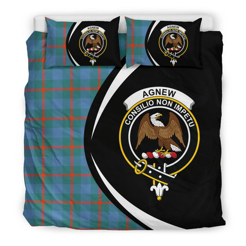 ScottishShopTartan Agnew Ancient Bedding Set - Circle Style