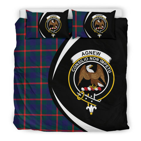 ScottishShopTartan Agnew Modern Bedding Set - Circle Style
