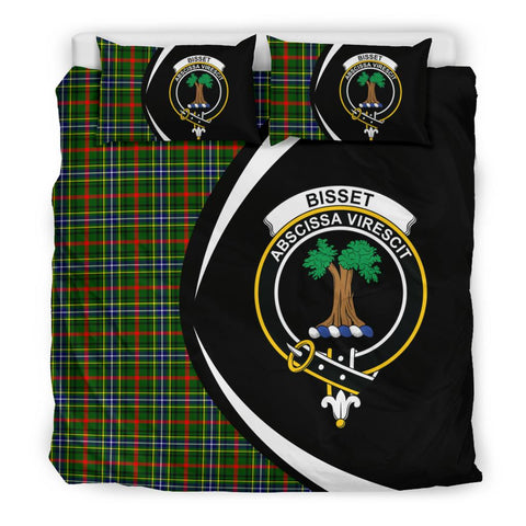 ScottishShopTartan Bisset Bedding Set - Circle Style