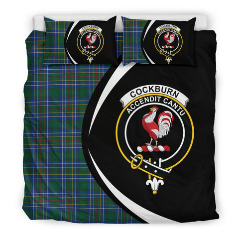 ScottishShopTartan Cockburn Ancient Bedding Set - Circle Style